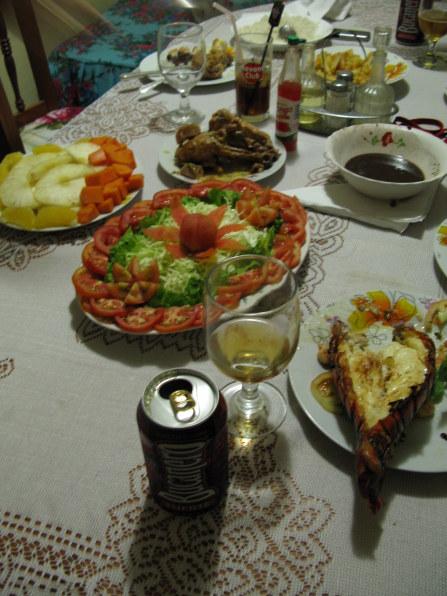 Dinner Hostal La Negra Trinidad de Cuba