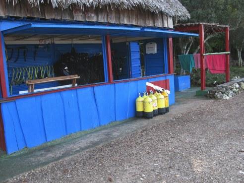 Dive shop Bay of Pigs Cuba