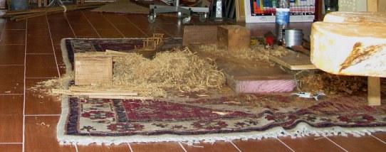 Qatar Doha Old Souk wood carving