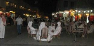 Qatar Doha Old Souk evening