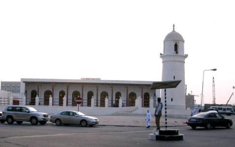 Doha Old Souk traffic policeman