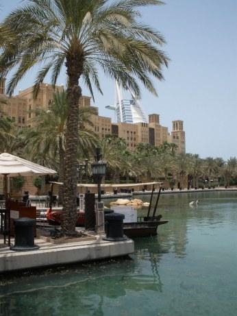Dubai Madinat Jumeirah Water taxi dock