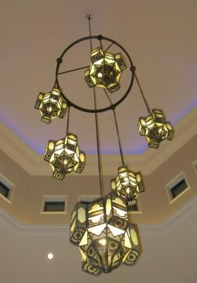Dubai Madinat Jumeirah chandelier
