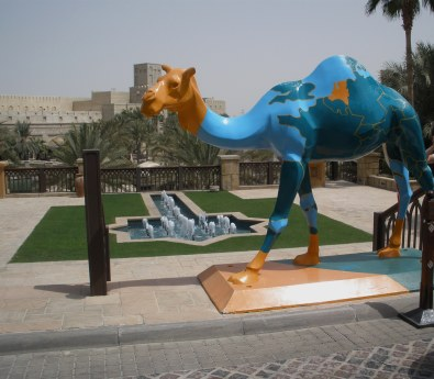 Dubai Madinat Jumeirah international camel