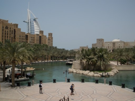 Dubai Madinat Jumeirah lagoon