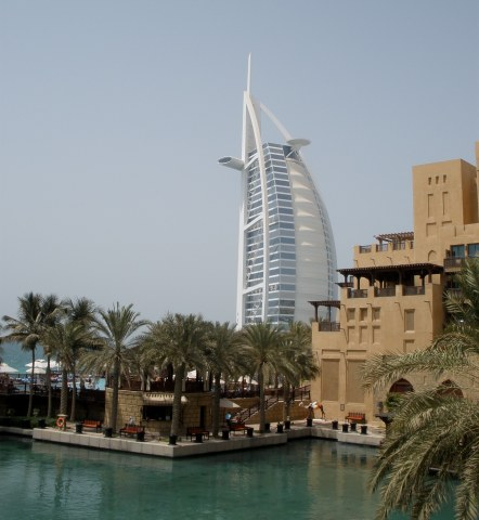 Dubai Madinat Jumeirah with Burj Al Arab
