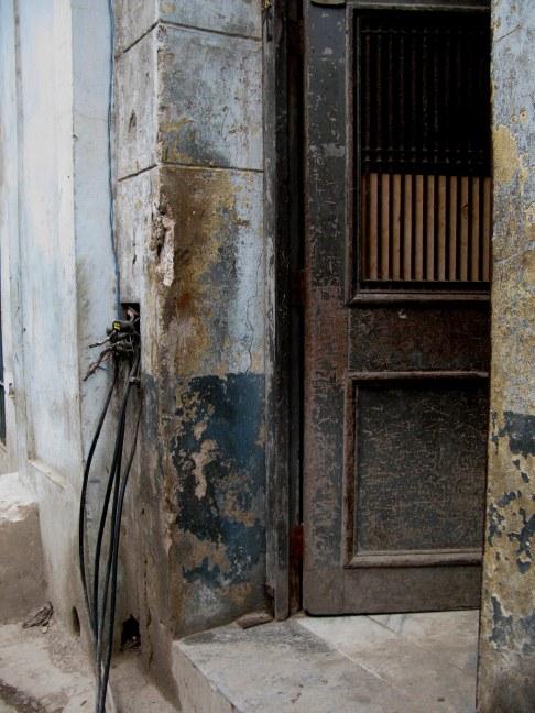 Electrical connections Havana Cuba