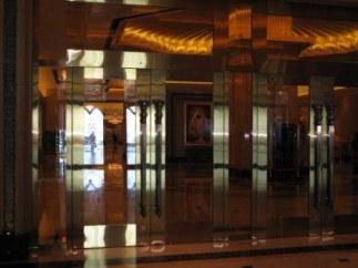Entrance to Emirates Palace Hotel Abu Dhabi