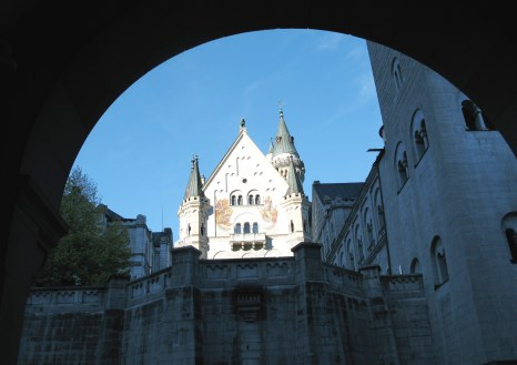 Entrance to Neuschwanstein Castle