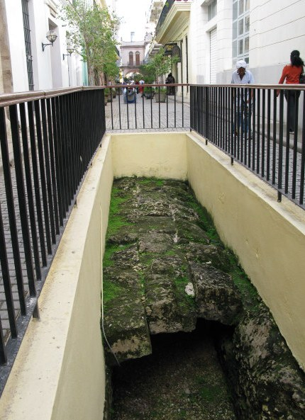EScape tunnel from Capitol Building Havana