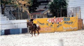 Escort riders in arena – Agricultural Fair - Havana