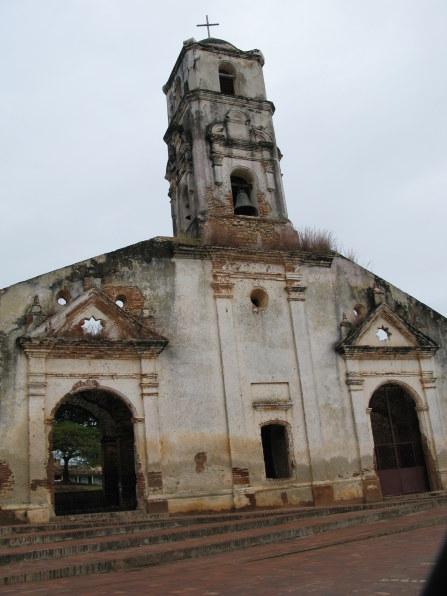 Façade of Iglesia Santa Ana Trinidad de Cuba