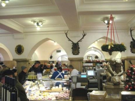 Food hall of  Dallmayr store Munich