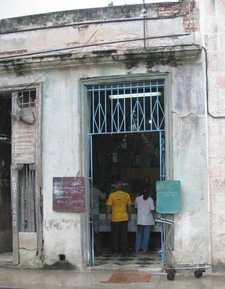 Food store Havana Cuba