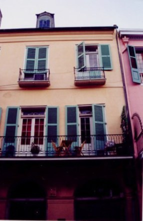 French Quarter balconies New Orleans