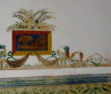 Fresco picture frieze Palacio Cantero Trinidad de Cuba
