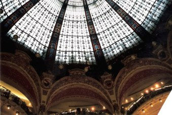Gallérie Lafayette glass dome