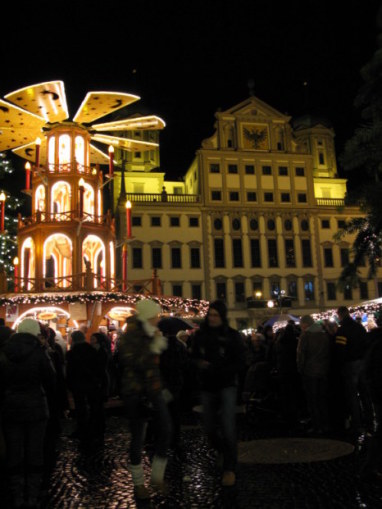 German Christmas Market at Augsburg