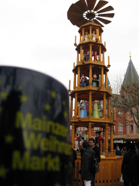German Christmas Market in Mainz