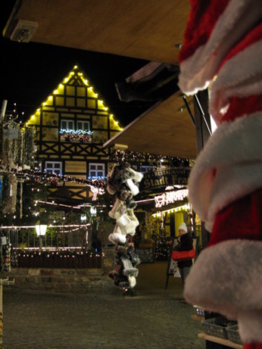 German Christmas Market in Rüdersheim restaurant
