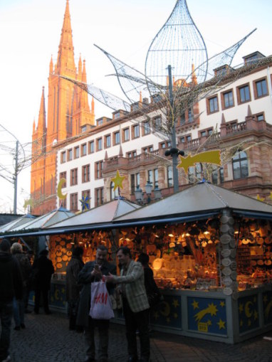 German Christmas Market in Wiesbaden