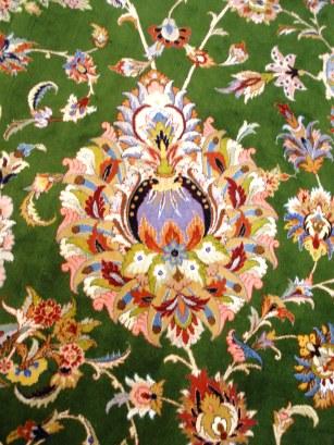 Grand mosque Abu Dhabi carpet detail