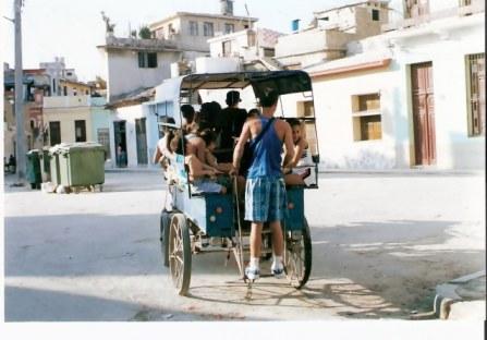 Havana Barrio Mule Cart