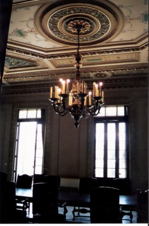 Havana Capital Building Meeting room with chandelier