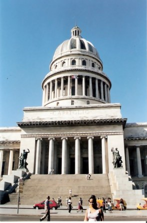 Havana -El Capitolio – The Capitol Building