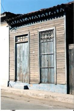 Doors in Havana barrio