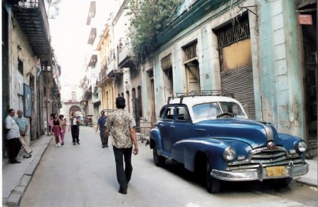 Havana-classic-car-parked-in-side-street