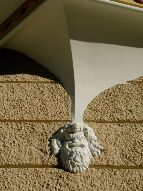 Head-shaped architectural feature Hohenschwangau