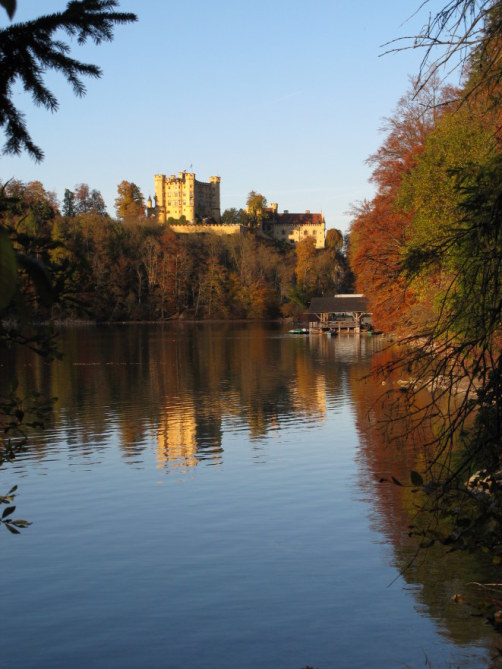 Hohenschwangau Castle from the Alpsee