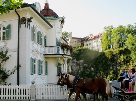 Horse-drawn carriage to Neuschwanstein by Jagerhaus