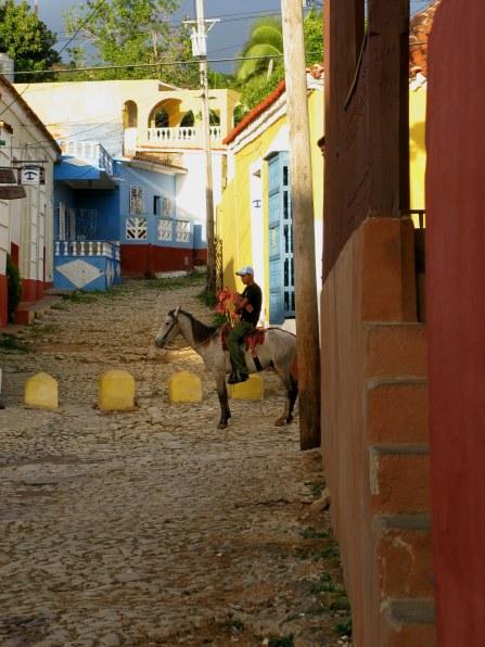 Horse rider Trinidad de Cuba