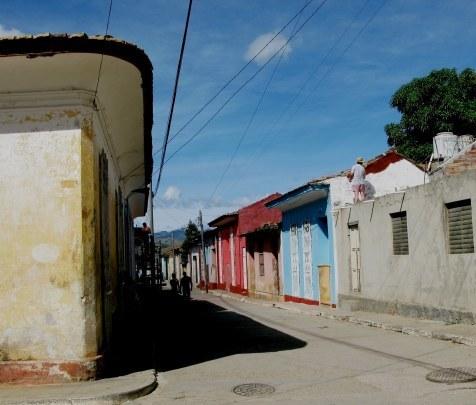 House painting in Trinidad de Cuba