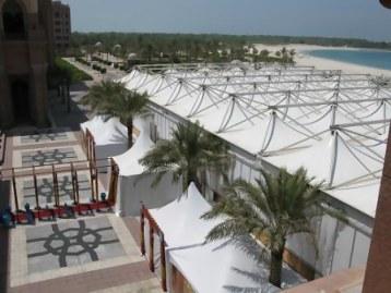 Iftar tent Emirates Palace Hotel Abu Dhabi
