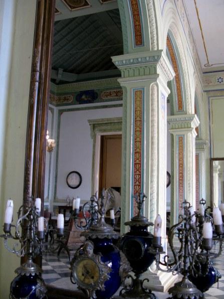Internal arches Palacio Cantero Trinidad de Cuba