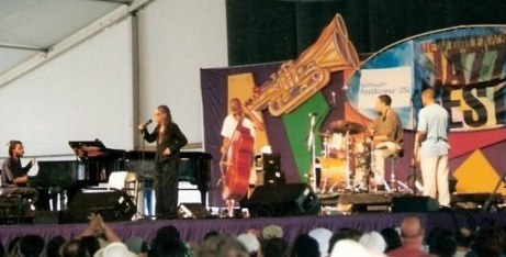 JazzFest in New Orleans