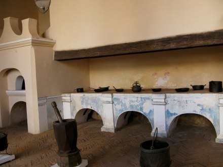 Kitchen of Palacio Cantero Trinidad de Cuba