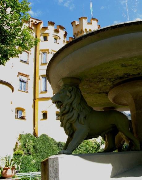 Lion Fountain Hohenschwangau Bavaria