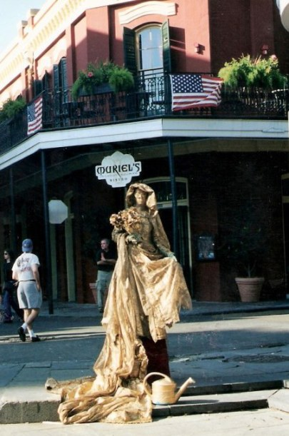Living sculpture in New Orleans