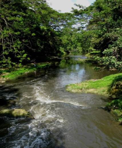 Lone Santeria believer Almendares River Cuba