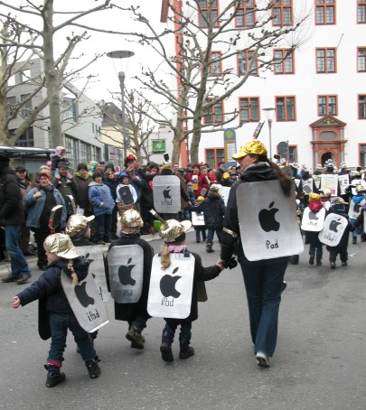 Mainz Carnival Children's Parade iPads