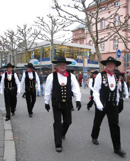 Mainz Carnival Children's Parade Master Carpenters