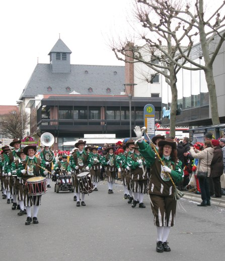 Mainz Carnival Children's Parade band