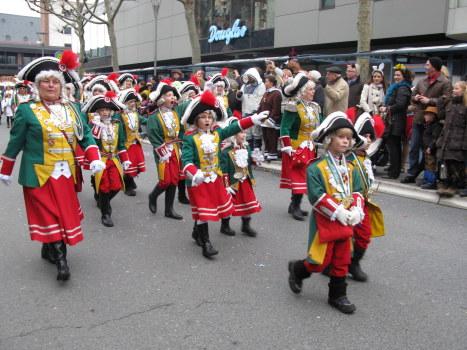 Mainz Carnival Children's Parade cadet corps