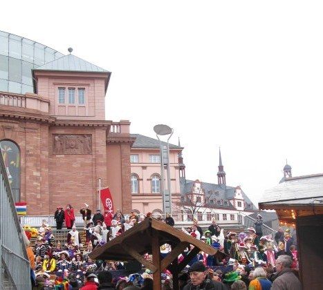 Mainz Carnival Children's Parade setting