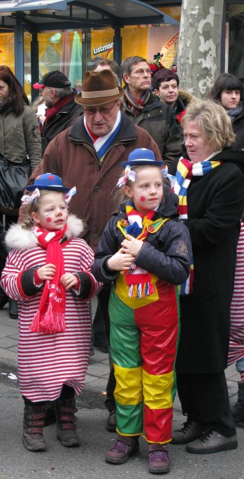 Mainz Carnival Children's Parade small clowns