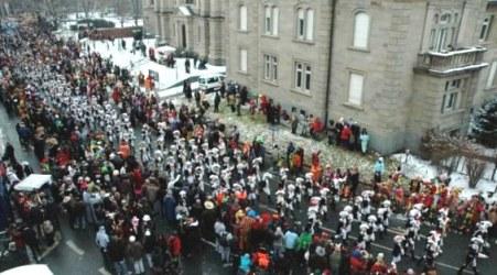 Mainz Carnival Parade Band Rosenmontag